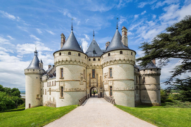 The Château de Chaumont castle in Chaumont-sur-Loire, Loir-et-Cher, France