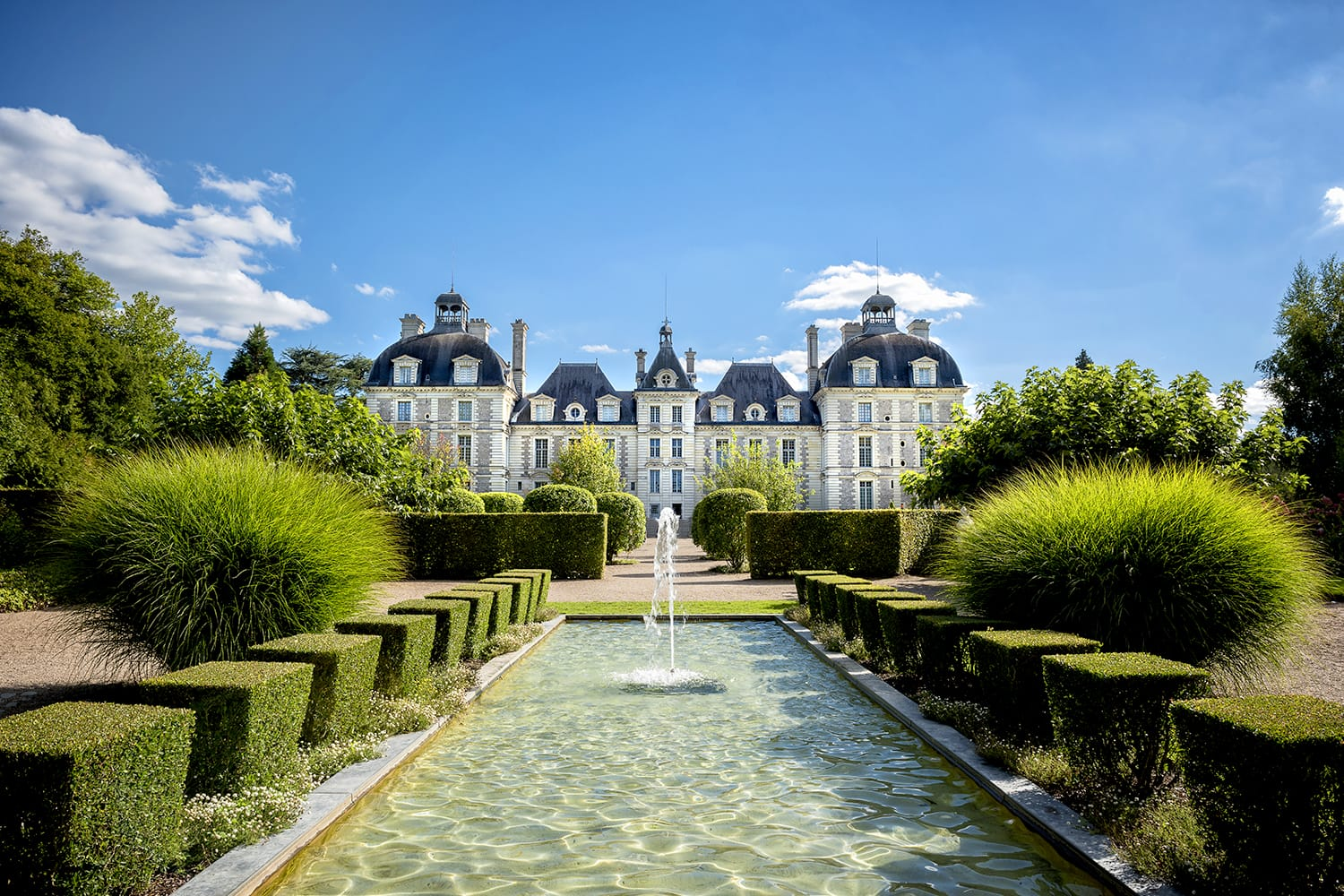 Chateau de Cheverny in the Loire Valley, France
