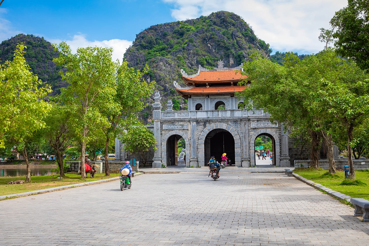Temple of Dinh Tien Hoang at Hoa Lu Ninh Binh, first capital of Vietnam