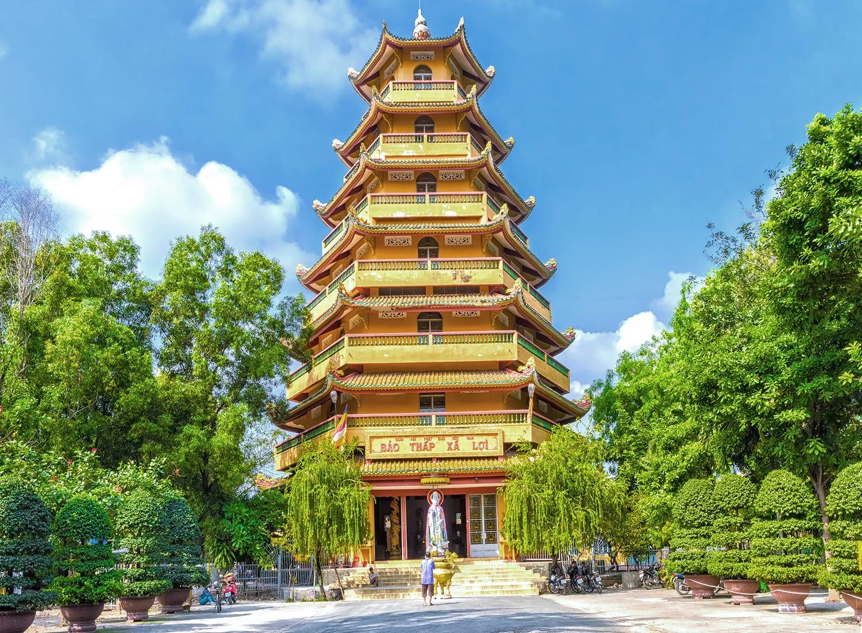 Giac Lam Pagoda in Ho Chi Minh City, Vietnam
