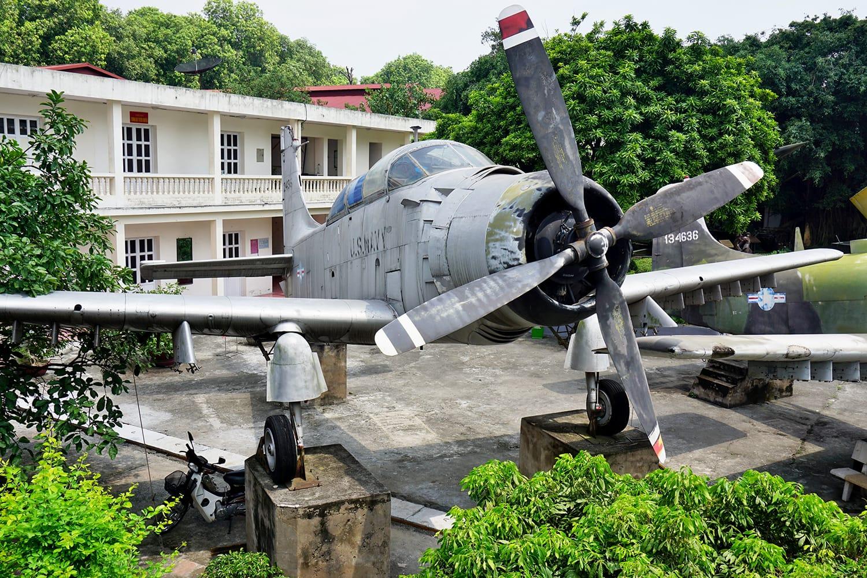 The Vietnam Military History Museum in Hanoi, Vietnam