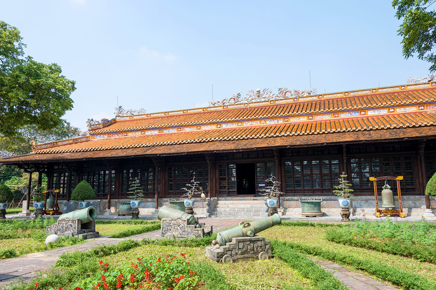 Hue Museum of Royal Fine Arts. a famous Historical site in Hue, Vietnam