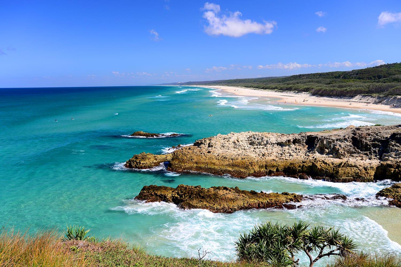 North Stradbroke Island in Australia