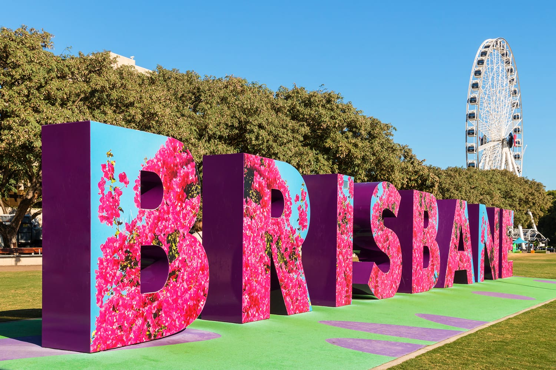 Sign in Brisbane, Australia