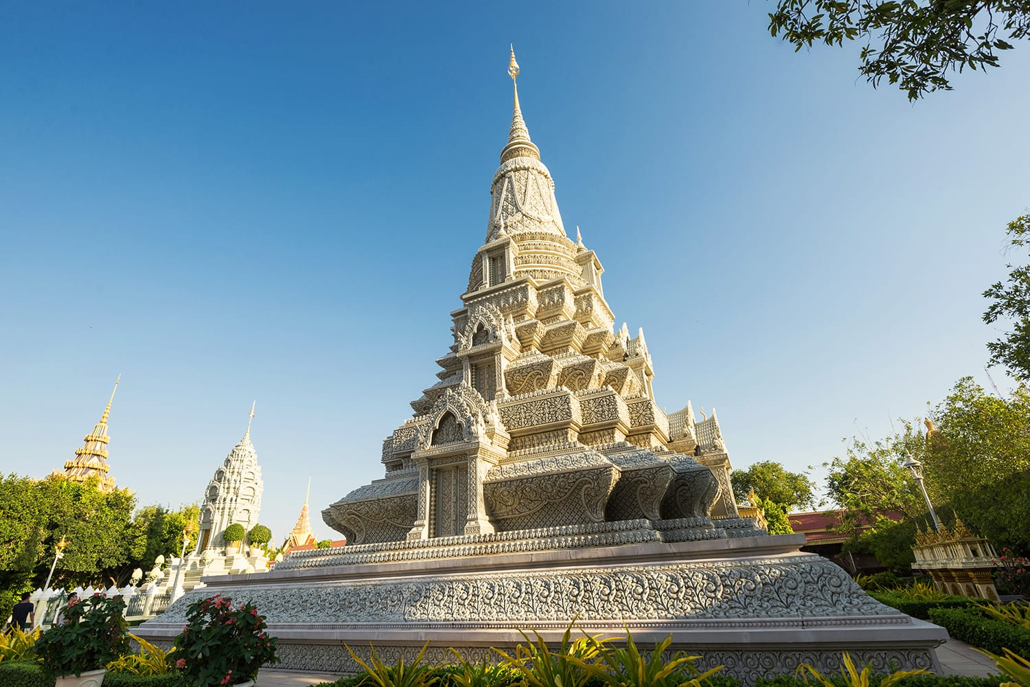 Royal Palace and Silver Pagoda, Phnom Penh, Cambodia