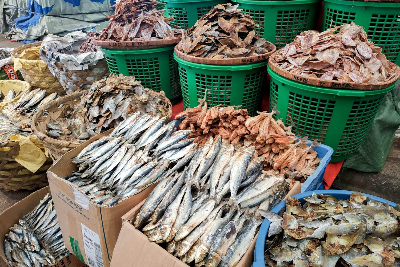 Taboan Public Market in Cebu City, Philippines