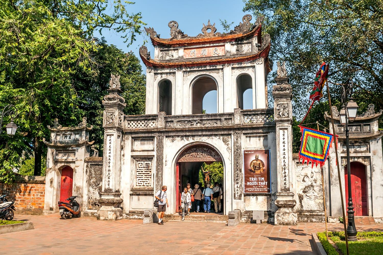 Temple of Literature of Hanoi, Vietnam