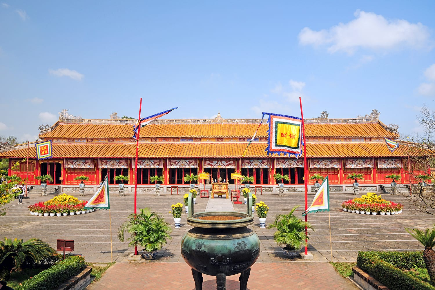To Mieu (Temple of the Generations), Citadel, Hue, Vietnam