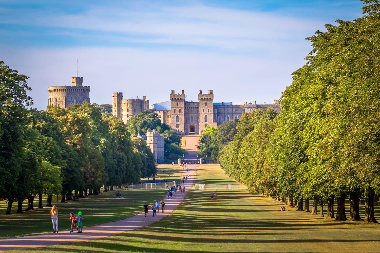 Windsor Castle in England, UK