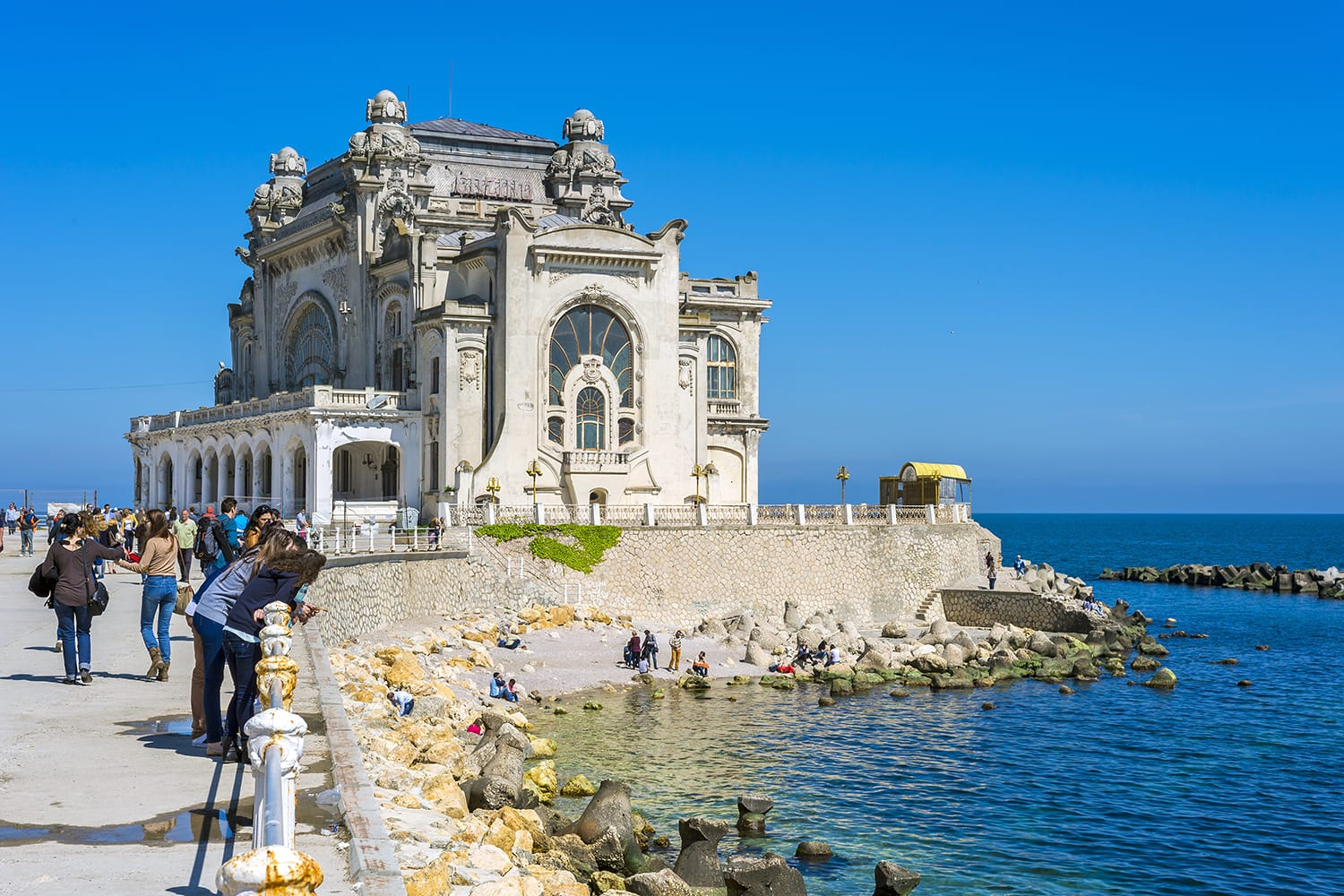 Famous Casino Palace in Constanta, Romania