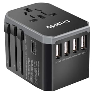 EPICKA Universal Travel Adapter