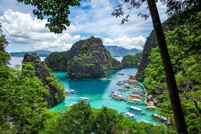 Kayangan Lake in Coron Island, Palawan, Philippines