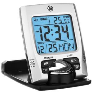 Marathon CL030023 Digital Travel Alarm Clock