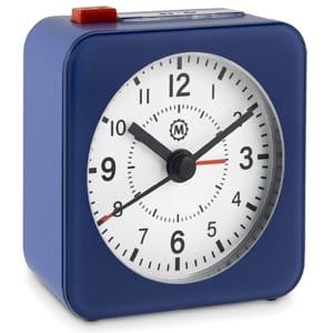 Marathon CL030065BL-WH2 Mini Travel Alarm Clock