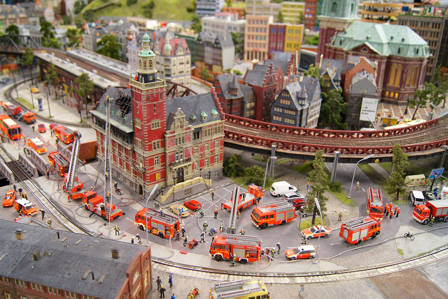 Miniatur Wunderland in Hamburg, Germany