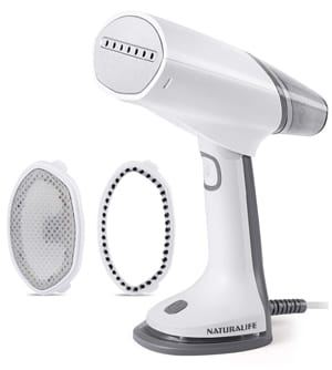 NATURALIFE Foldable Dual Voltage Travel Steamer