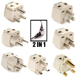 OREI 7 World Travel Adapter Plug Set