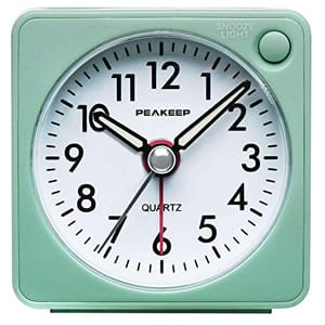 Peakeep Ultra Small Travel Alarm Clock