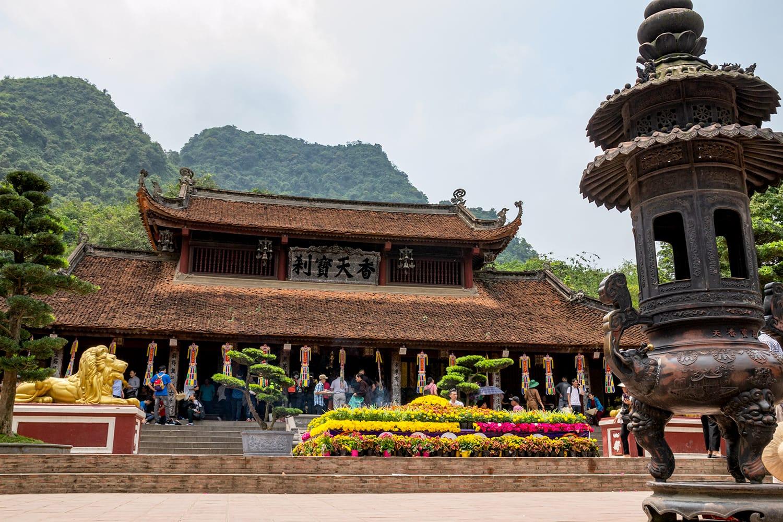 Perfume pagoda in Hanoi, Vietnam