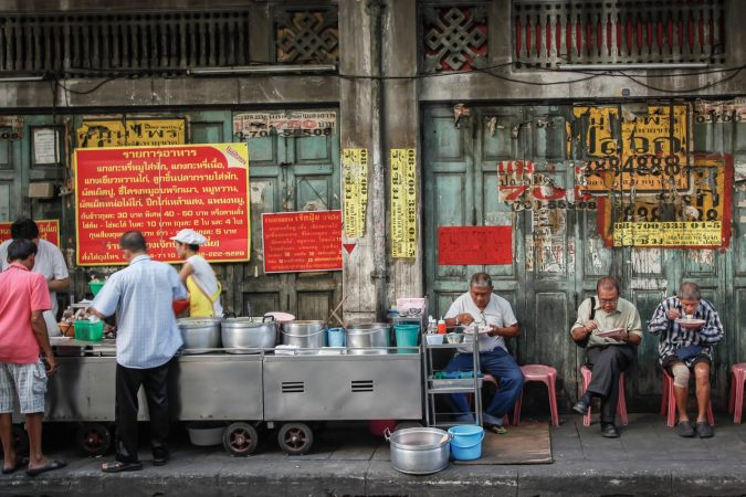 Street food in Chinatown, Bangkok, Thailand