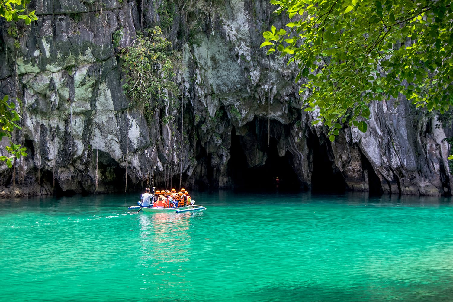 Puerto Princesa Subterranean River National Park in Palawan, Philippines