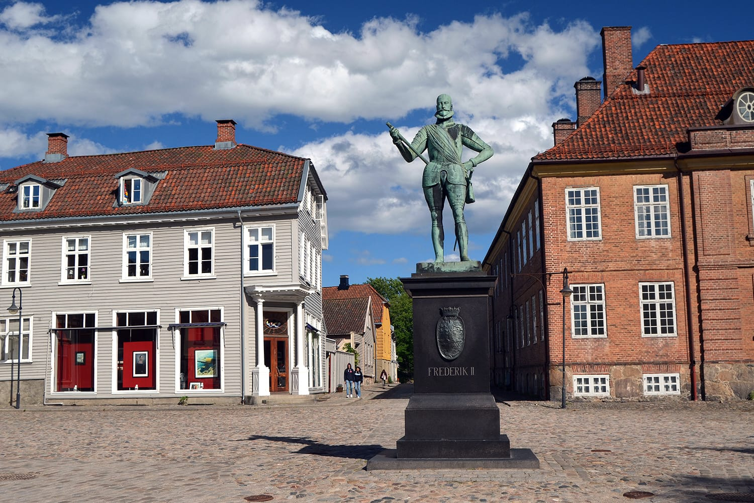 Square in Fredrikstad, Norway