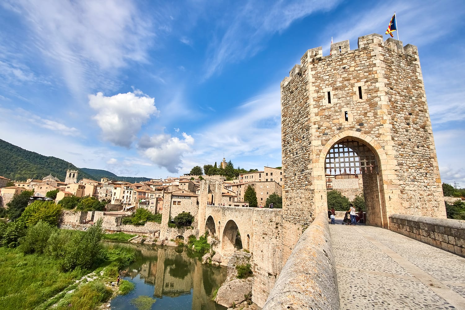 Besalu is a medieval village in Girona province in Spain