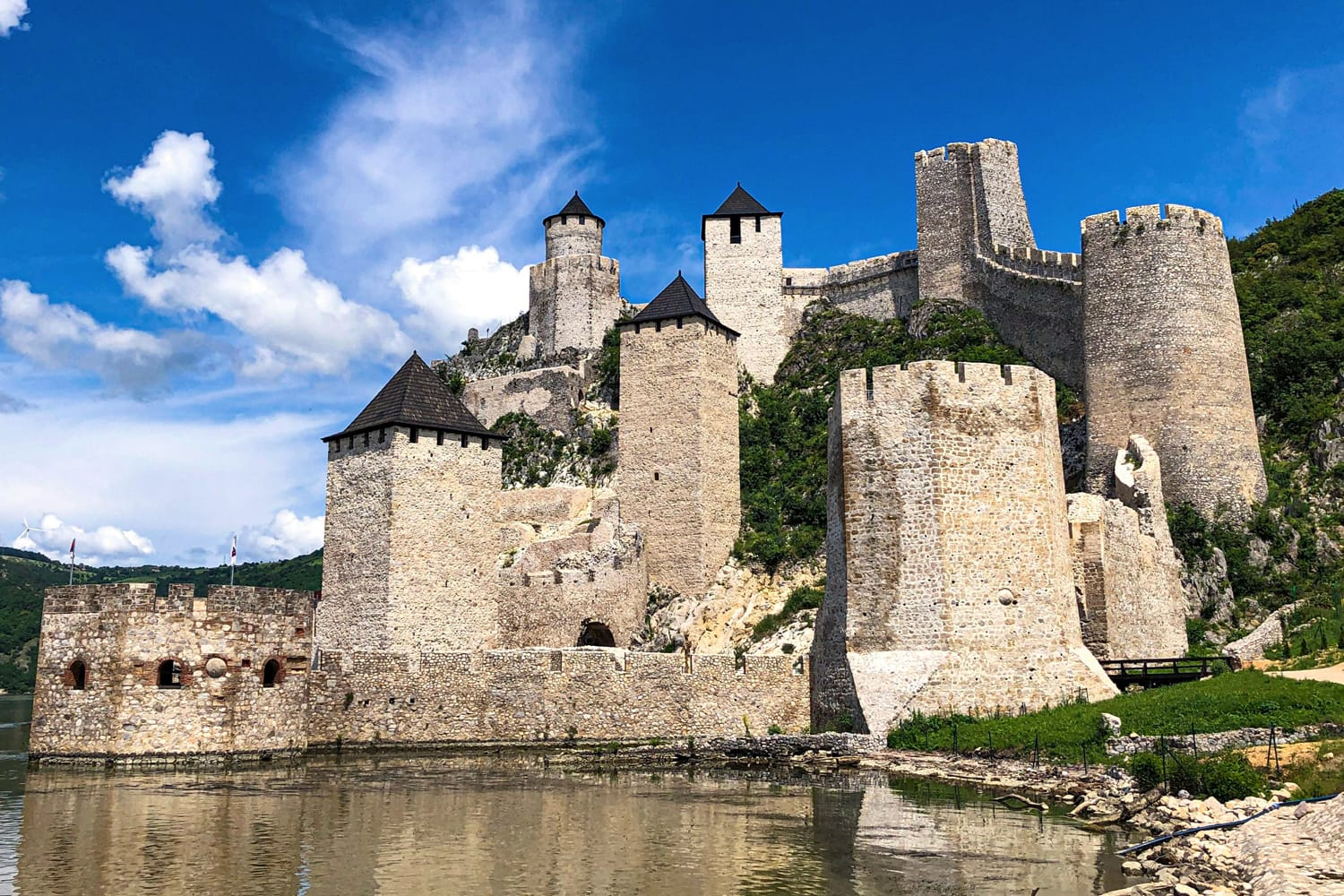 Golubac Fortress in Serbia