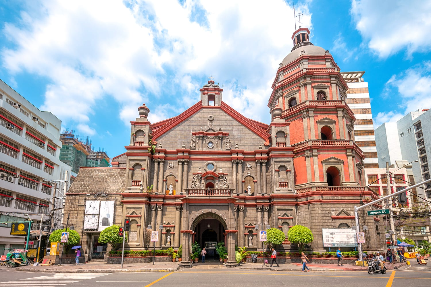 Minor Basilica of Saint Lorenzo Ruiz in Manila, Philippines