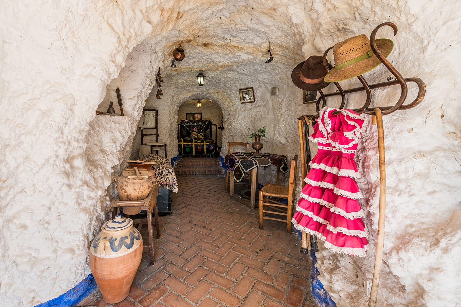 Museum and Interpretive Center Cuevas del Sacromonte in Granada, Andalusia, Spain