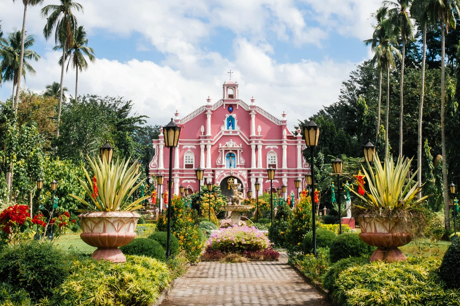 Old Museum building in Villa Escudero, Philippines