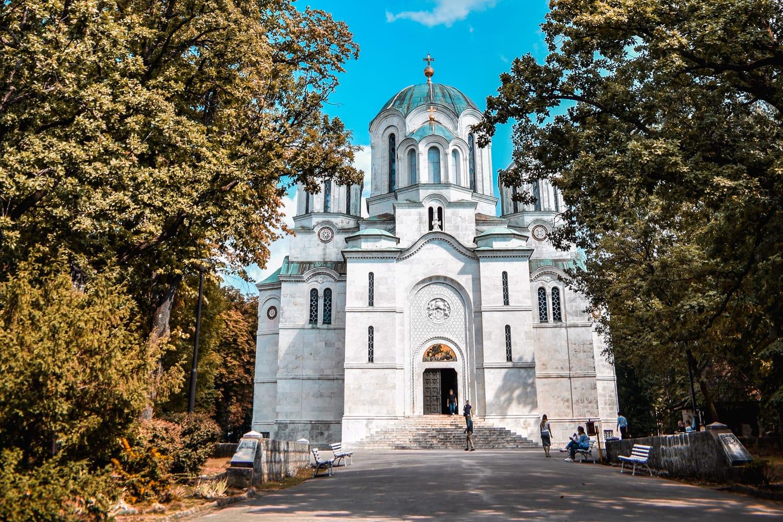 Orthodox church in Oplenac, Topola, Serbia