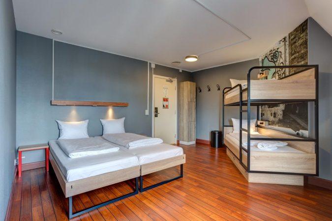 Room at Urban House Copenhagen by MEININGER