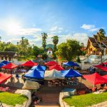 Night Market at Luang Prabang, Laos