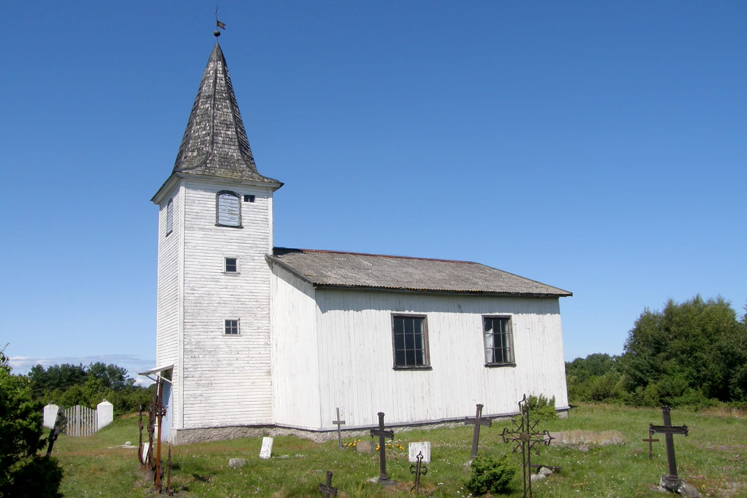 Prangli Church of Laurentius in Estonia