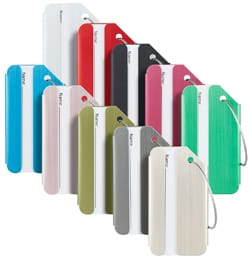 Travelambo Aluminum Luggage Tags