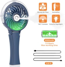 Comlife Portable Misting Fan