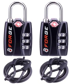 Forge TSA Luggage Combination Lock
