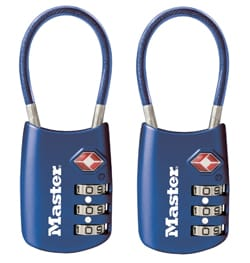 Master Lock TSA Accepted Luggage Lock