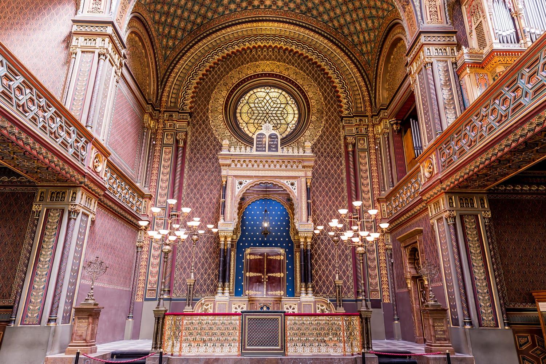 Synagogue in Prague, Czechia