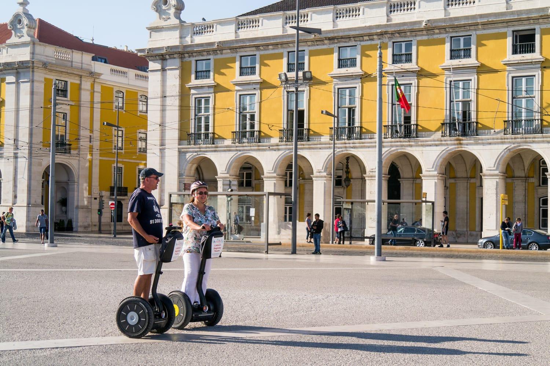 Segway tour in Lisbon, Portugal