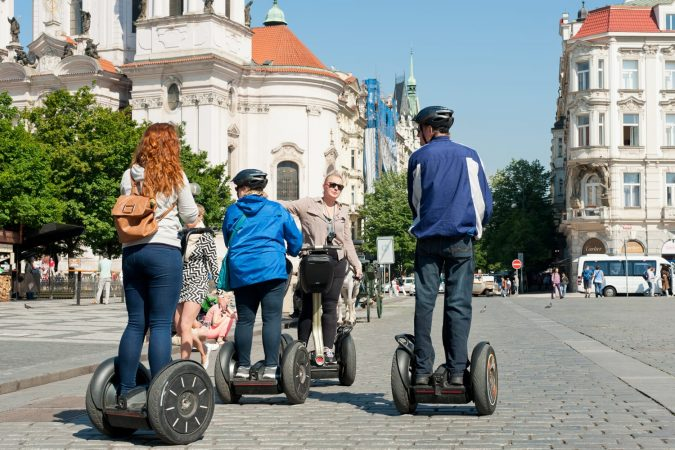 Segway tour in Prague, Czechia