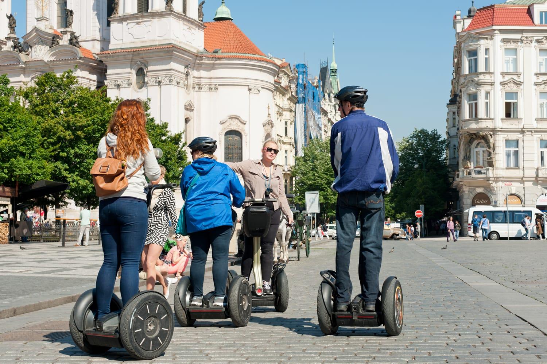 Segway tour in Prague, Czechia
