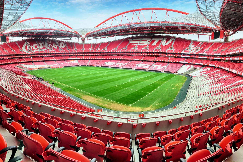 Stadium and Sport Lisbon e Benfica in Lisbon, Portugal