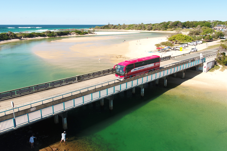 Greyhound bus driving in Australia
