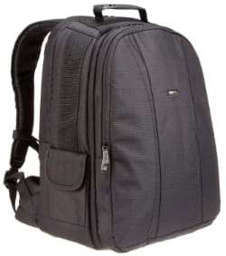 AmazonBasics DSLR Camera and Laptop Backpack