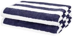 AmazonBasics Cabana Stripe Beach Towel