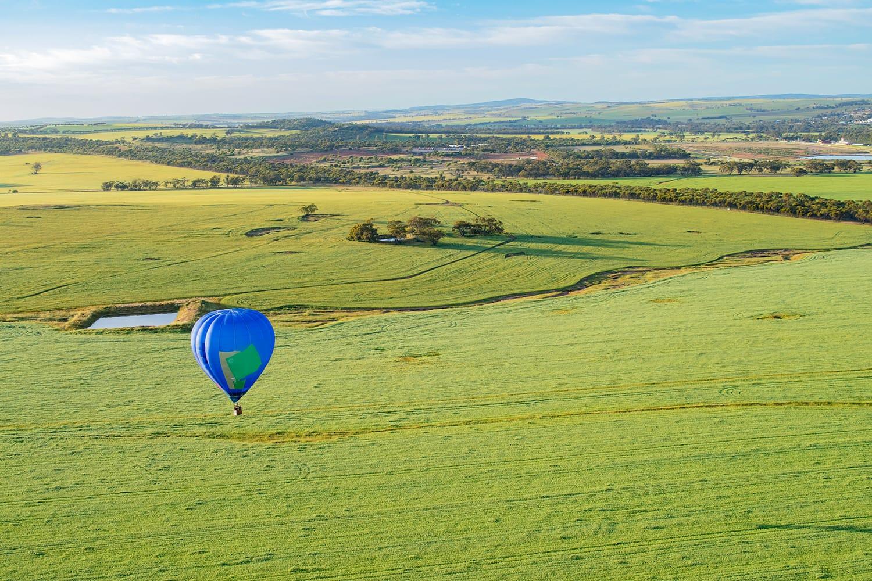 Avon valley in Western Australia