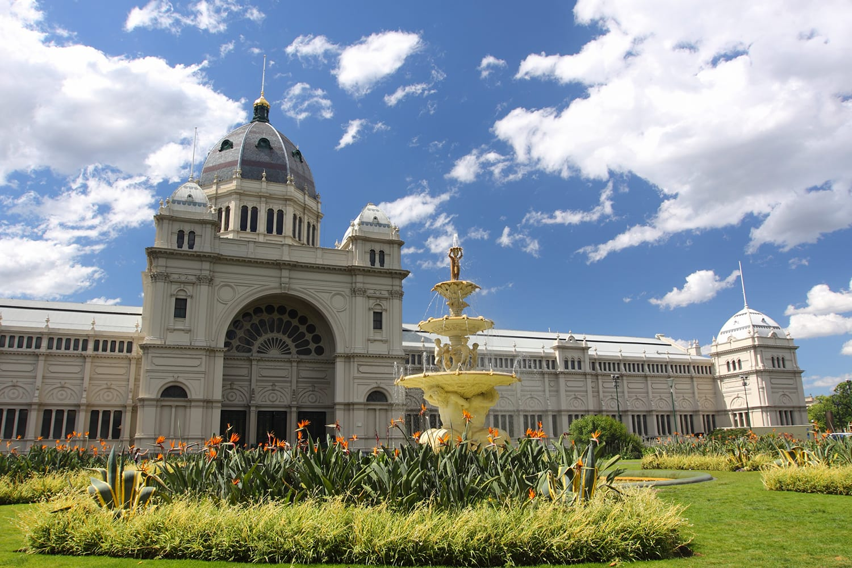 Carlton Garden in Melbourne, Australia