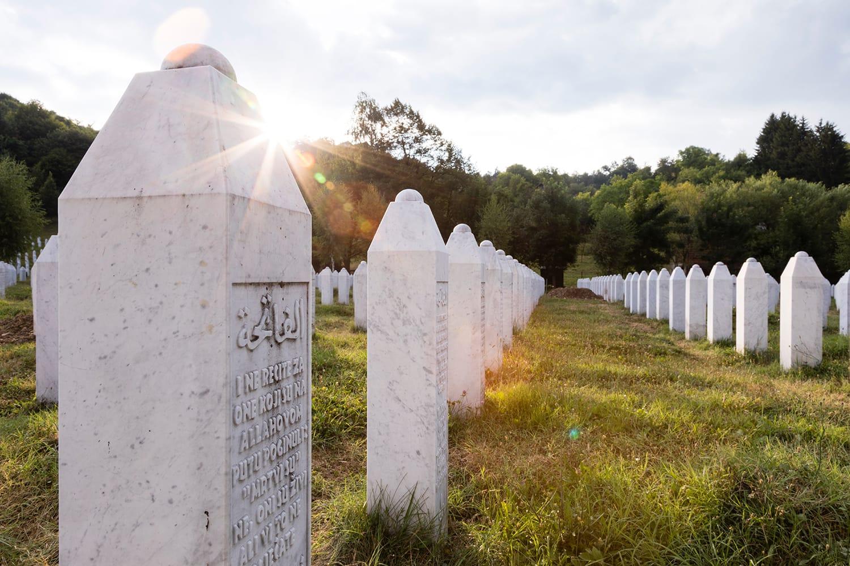 Cemetery Srebrenica, Bosnia-Herzegovina